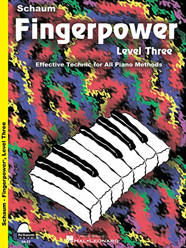 9781936098095: Fingerpower - Level Three: Effective Technic for All Piano Methods (Schaum Publications Fingerpower(R))