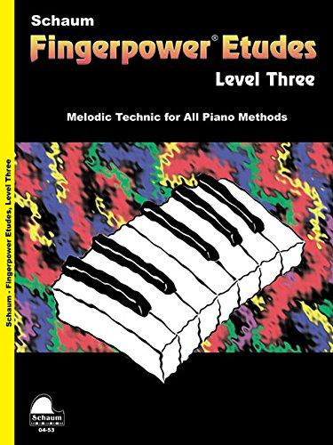 9781936098392: Fingerpower - Etudes Level 3 (Schaum Publications Fingerpower(R))