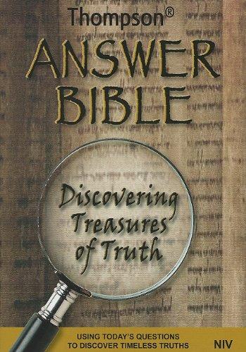 9781936119073: Thompson Answer Bible - NIV- Hardcover
