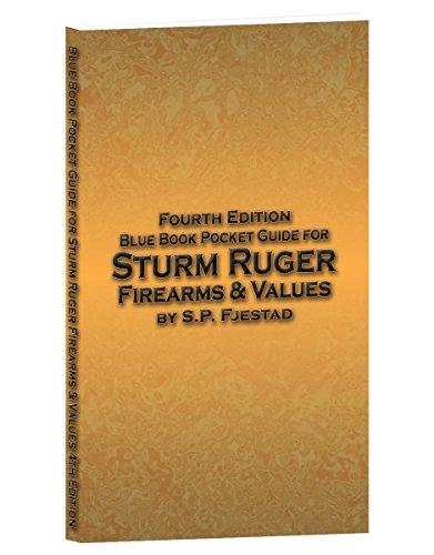 Blue Book Pocket Guide for Sturm Ruger Firearms & Values: Steven P. Fjestad