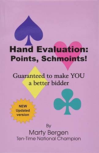 9781936125173: Hand Evaluation: Points, Schmoints