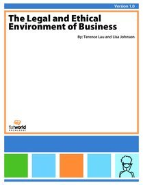 bus c110 legal environment of business Seaport bus-c110 final exam   august 31, 2016 question  what is legal is not necessarily ethical and what is ethical is not necessarily legal true false 5 ethics is the study of what is right and wrong just from an individual's personal moral viewpoint  comprehensive environment response, compensation, and liability act.