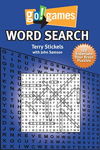 9781936140091: Go!Games Word Search