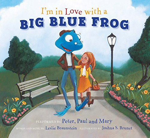 9781936140374: I'm in Love with a Big Blue Frog