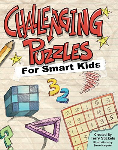 9781936140411: Challenging Puzzles for Smart Kids