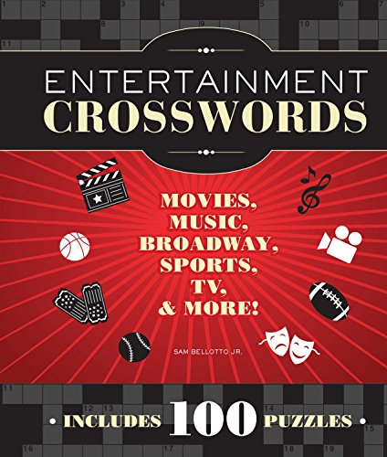 9781936140824: Entertainment Crosswords: Movies, Music, Broadway, Sports, TV & More