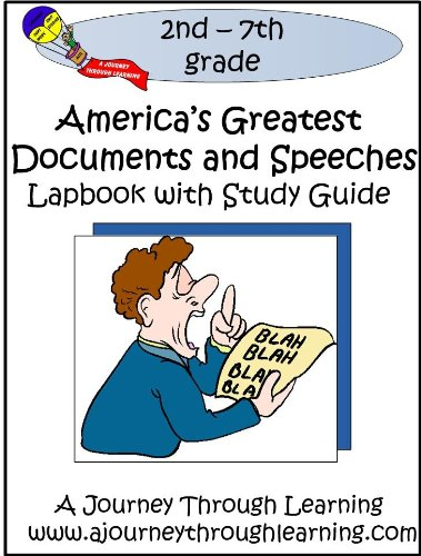 9781936146734: America's Greatest Documents and Speeches Lapbook with Study Guide