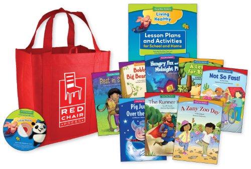 9781936163434: Funny Bone Readers: Living Healthy Classroom Set