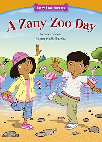 A Zany Zoo Day (Funny Bone Readers: Living Healthy): Bakowski, Barbara