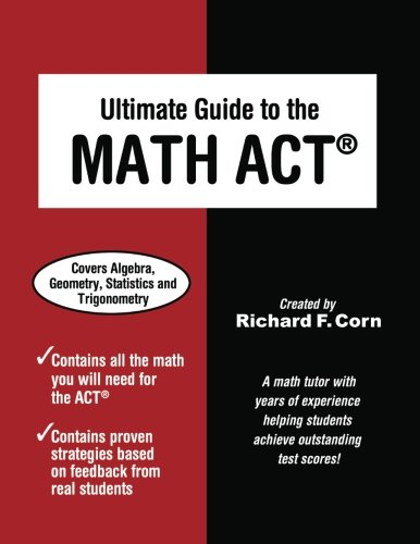 9781936214600: Ultimate Guide to the Math ACT