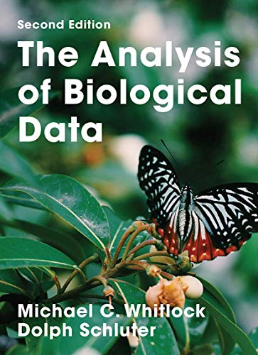 The Analysis of Biological Data: Michael C. Whitlock