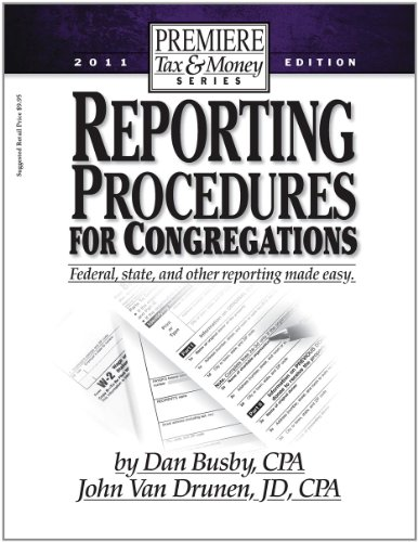 9781936233021: Reporting Procedures for Congregations