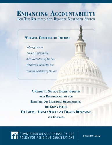 9781936233052: Enhancing Accountability For The Religious And Broader Nonprofit Sector