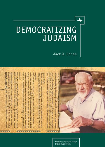 9781936235162: Democratizing Judaism (Reference Library of Jewish Intellectual History)