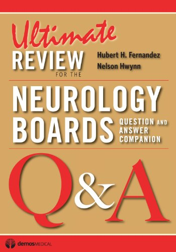 9781936287116: Ultimate Review for the Neurology Boards: Question and Answer Companion
