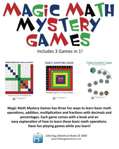 9781936288199: Magic Math Mystery Games