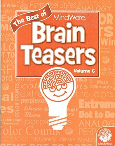 9781936300686: The Best of MindWare Brain Teasers Volume 6