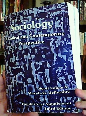 9781936306039: Sociology: A Critical and Contemporary Perspective - Digital Text Supplement [Third Edition]
