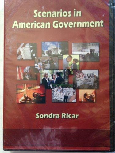 9781936306411: Scenarios in American Government