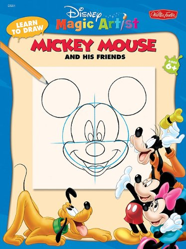9781936309023: Learn to Draw Walt Disney's Mickey Mouse (Disney Magic Artist: Learn to Draw)