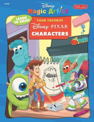 9781936309221: Learn to Draw Your Favorite Disney Pixar Characters (Disney Magic Artist: Learn to Draw)