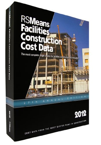 9781936335343: RSMeans Facilities Construction Cost Data 2012