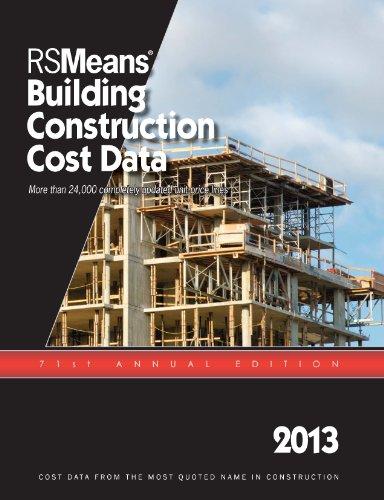 9781936335565: RSMeans Building Construction Cost Data 2013