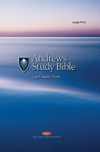 9781936337118: Andrews Study Bible (Large Print)