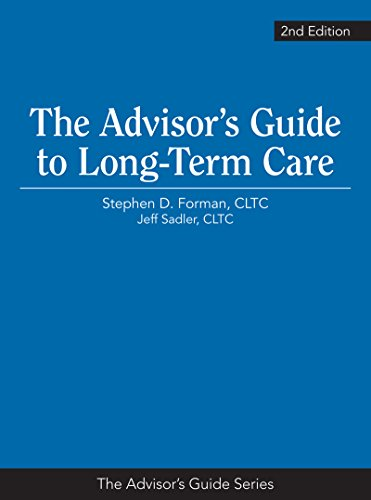 9781936362486: The Advisor's Guide to Long-Term Care