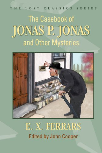 9781936363018: The Casebook of Jonas P. Jonas and Other Mysteries