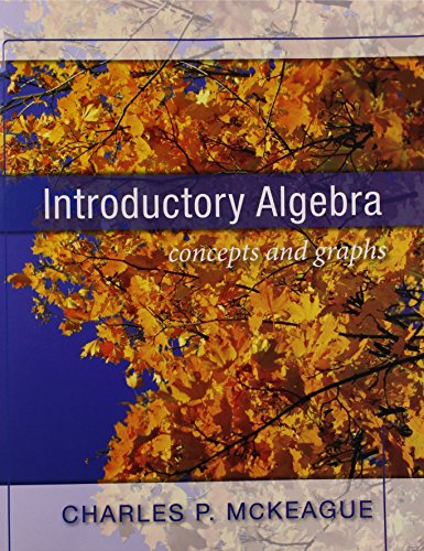 9781936368020: Introductory Algebra Concepts and Graphs