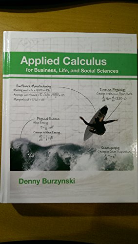 APPLIED CALCULUS-W/ACCESS: Denny Burzynski