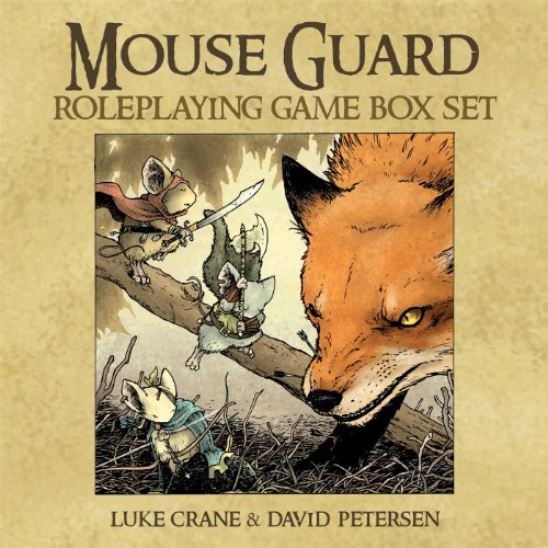 9781936393176: Mouse Guard Roleplaying Game Box Set