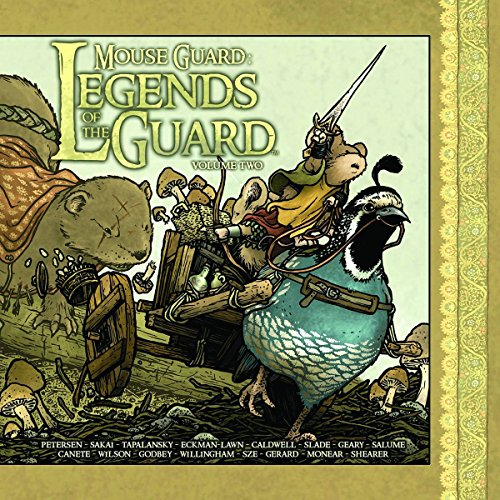 9781936393268: Mouse Guard: Legends of the Guard Volume 2