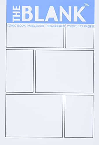 9781936404391: The Blank Comic Book Panelbook - Staggered, 7