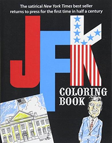 JFK Coloring Book (Paperback): Alexander a Roman,