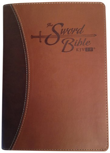 9781936428113: Holy Bible: King James Version Easy Reader (KJVER), Sword Bible, Personal Size, Brown/Brown Duotone Leather-like