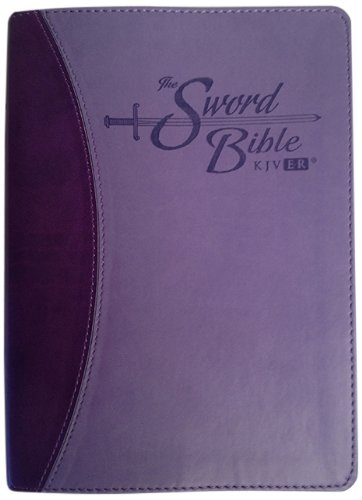 9781936428120: Holy Bible: King James Version Easy Reader (KJVER), Sword Bible, Personal Size, Purple/Purple Duotone Leather-like