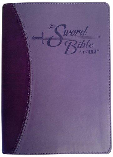 9781936428120: Holy Bible: King James Version Easy Reader (KJVER), Sword Bible, Personal Size, Purple/Purple Duotone Leather-like