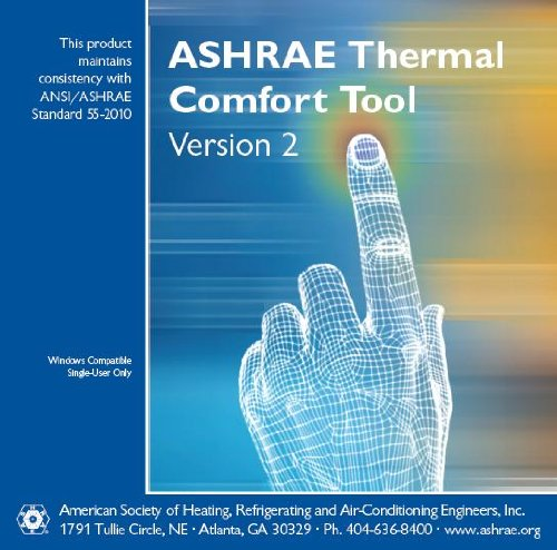 9781936504114: ASHRAE Thermal Comfort Tool CD, Version 2