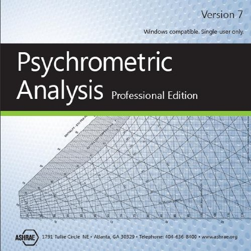 9781936504299: Psychrometric Analysis CD, Version 7