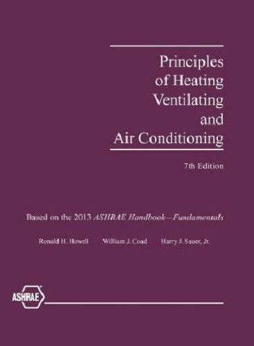 Principles of Heating, Ventilating and Air Conditioning,: American Society of
