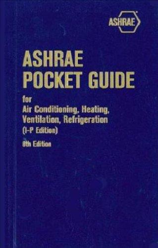 9781936504633: ASHRAE Pocket Guide for Air-Conditioning, Heating, Ventilation, Refrigeration: SI Edition