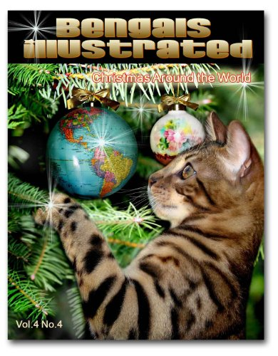 9781936522019: Bengals Illustrated Bengal Cats Christmas Around the World