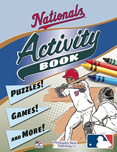 9781936562121: Nationals Activity Book