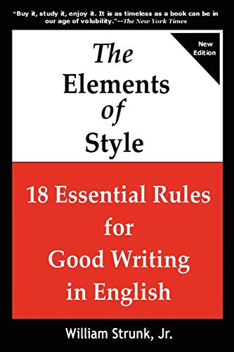 9781936583362: THE ELEMENTS OF STYLE 18 Essential Rules for Good Writing in English