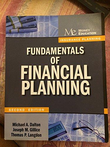 9781936602049: Fundamentals of Financial Planning Insurance Planning
