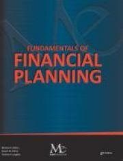 9781936602209: Fundamentals of Financial Planning