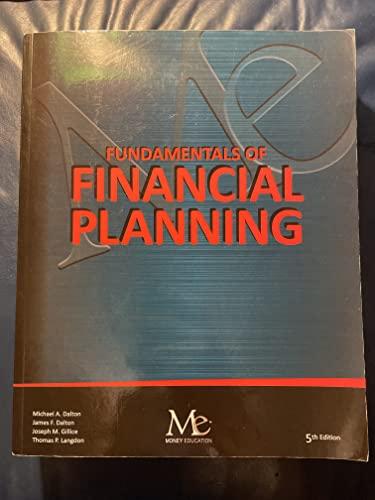9781936602414: FUNDAMENTALS OF FINANCIAL PLANNING