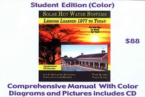 9781936634705: Solar Hot Water Systems: Lessons Learned 1977 to Today (Student Edition (Color))